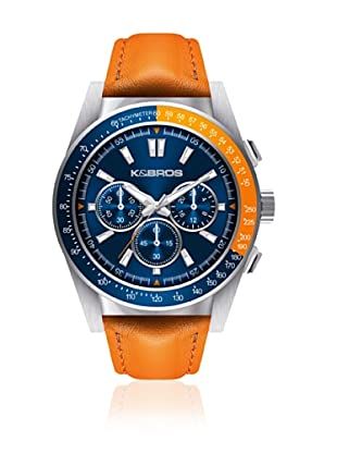 K&BROS Reloj 9902 (Naranja)