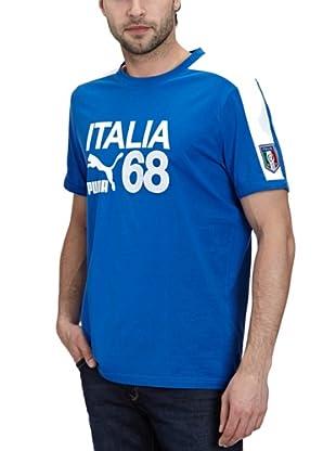 Puma T-Shirt Football Archives T7 Ringer (team power blue-figc)