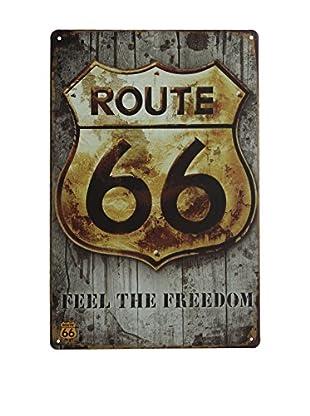LO+DEMODA Panel Decorativo Route 66 Freedom