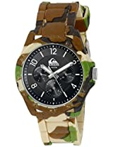 Quiksilver Analog Black Dial Men's Watch - QS-1016-BKGN