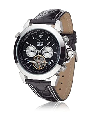 Yves Camani Reloj Worldtimer Negro