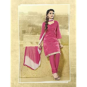 Lotus Rose Embroidered Chanderisilk Unstitched Suit LS2914