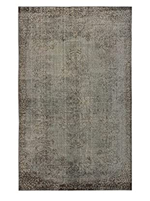 eCarpet Gallery One-of-a-Kind Hand-Knotted Color Transition Rug, Grey, 5' 10