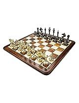 Chess Board/Set - Brass Slim Body Chess Board - CNC-BR-13 - By CHESSNCRAFTS