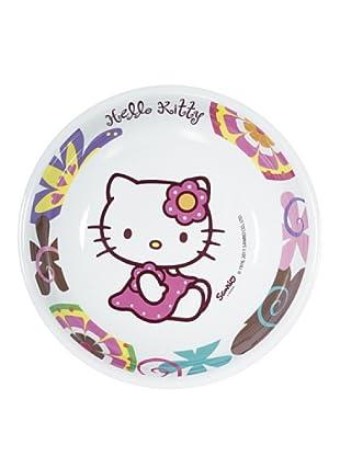 Plato Hondo 19,5 Cm Modelo Hello Kitty Bamboo