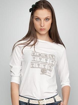 Dolores Promesas Camiseta Print (blanco)