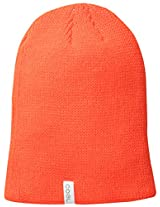 Coal Men's Frena Solid Unisex Beanie, Neon Orange, One Size