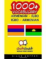 1000+ Armenian-igbo Igbo-armenian Vocabulary