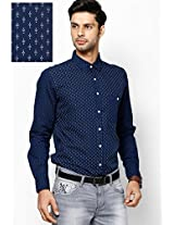 Blue Custom Casual Casual Shirt
