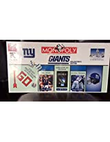Monopoly Game N Y Giants Special Collectors Edition C:2003 Like New Condition
