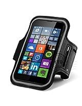 eshop24x7 Sports Running Armband Gym Case Pouch for Microsoft Lumia Nokia Model Mobile 640 1109 830 RM-984 630 635 636 638 N630 N635 730 735 720 RM885 RM876 920 N920