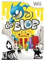 THQ De Blob (Nintendo Wii) for Nintendo Wii for Video Games (Catalog Category: Nintendo Wii / Action )