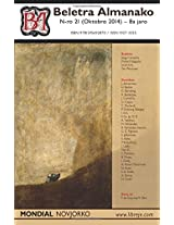 Beletra Almanako 21 (Ba21 - Literaturo En Esperanto)