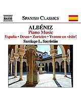 Albeniz: Piano Music Vol. 6 [Santiago L. Sacristán] [Naxos: 8573295]