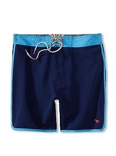 Ted Baker Men's Mid Length Short (Dark Blue)
