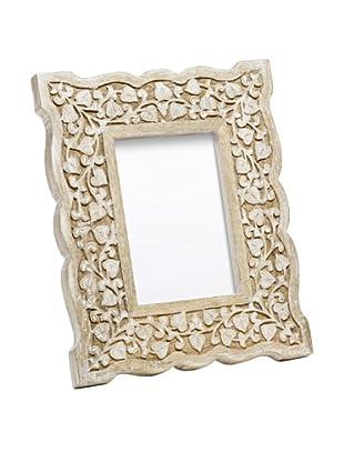 Mela Artisans Hand Carved Jasmine Photo Frame, 5