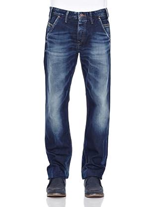 Pepe Jeans London Pantalón Vaquero New Smoke (Azul Noche)