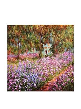 LegendArte  Wandbild Der Garten von Claude Monet