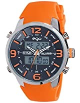 Maxima Ego Analog-Digital Multi-Color Dial Unisex Watch - E-33090PPAN