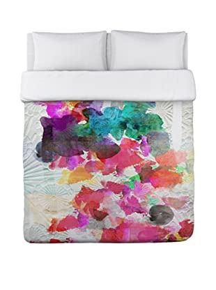 Oliver Gal by One Bella Casa Inside Her Eyes Duvet Cover (Multi Brights)