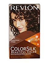 Revlon Colorsilk Hair Color with 3D Color Technology Dark Brown 3N, 100g