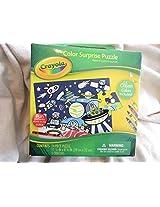 Crayola Color Sur;Prise Puzzle With 5 Crayons