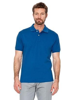 Cortefiel Polo Vintage (Azul Royal)