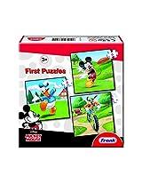 Frank MM & Friends First Educational Puzzle Set - Multi Colour
