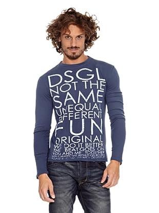 Desigual Camiseta Once (Azul Europa)