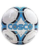 Cosco Torino Football, Size 5 (White/Blue)