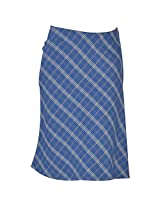 Colhers - Bias Cut Checked Skirt - S