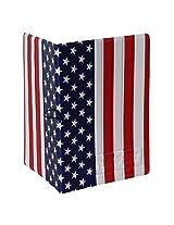 U.S Flag Print Passport Cover