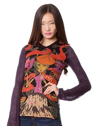 Custo Camiseta Saindu (Multicolor)