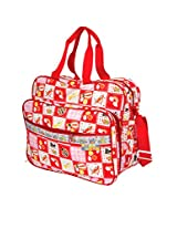 Mee Mee Multifunctional Nursery and Diaper Bag (Red)