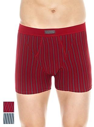Ocean Pack x 2 Boxers Abierto (Gris / Rojo)
