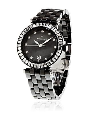 Yves Camani Reloj Crystal Cerámica Negro