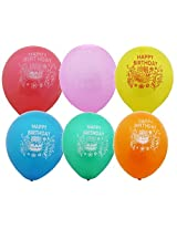 Happy Birthday Printed balloons(pack of 20)