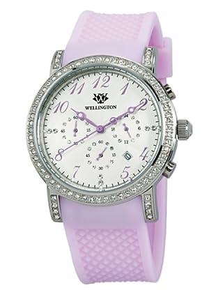 Wellington Damen-Armbanduhr Analog Silikon Amberley WN505-110A
