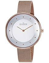 Skagen Gitte Analog Silver Dial Women's Watch - SKW2142I