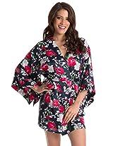 PrettySecrets Women's Floral Kimono Wrap
