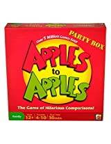 Mattel Apples to Apples Party Box The Game of Hilarious Comparisons (Family Edition)