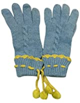 Graceway Unisex Cable Gloves (5G15, Blue)
