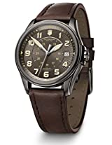 Victorinox Swiss Army Brown Dial Analog Men's Watch 241476