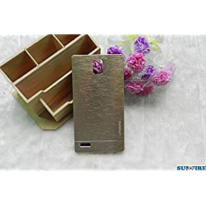 Gold Aluminum Plastic Hard Case Cover For Xiaomi RedMi Note
