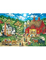 Masterpieces 31562 Bonnie White Friday Night Hoe Down Puzzle, 500 Pieces