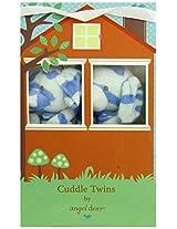Angel Dear Cuddle Twin Set, Blue Camo Puppy