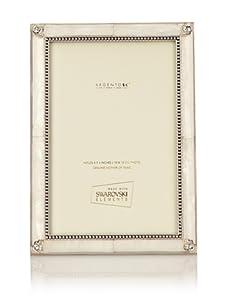 "Swarovski Frames 4"" x 6"" Radiance Frame (Mother of Pearl/Silver)"
