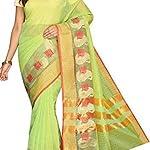 Striped Banarasi Kota Cotton Sari