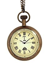 Artshai ship Design Antique look Pocket Watch with chain. Antique Style