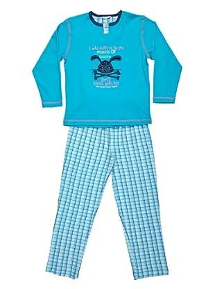 Bkb Pijama Niña (turquesa)
